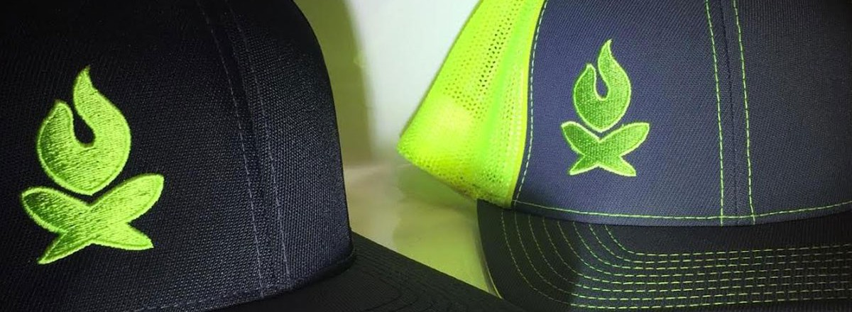 New Fitted Mesh Backed Hats