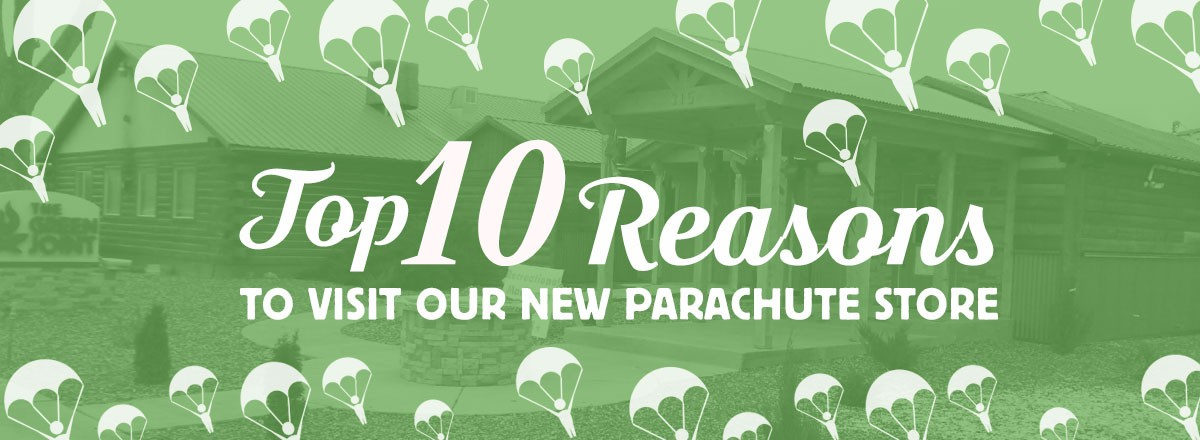 Top 10 Reasons to Visit Our New Parachute Dispensary