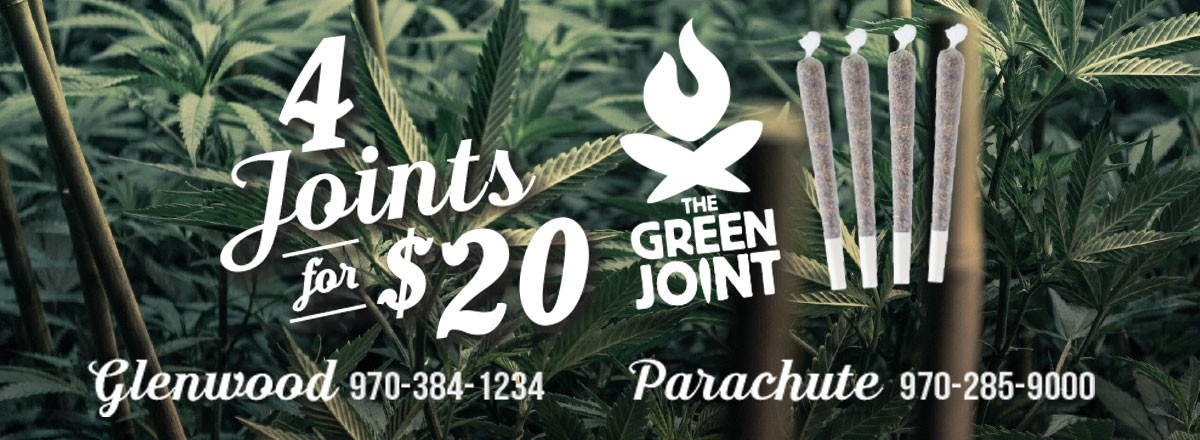 4/20  Special – 4 Joints for $20